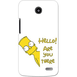 Snooky Digital Print Hard Back Case Cover For Lenovo A820 94168