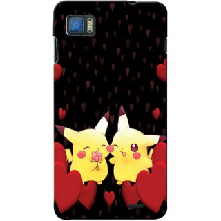 Snooky Digital Print Hard Back Case Cover For Lenovo K860 97246