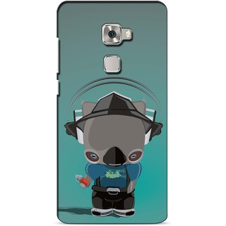 Snooky Digital Print Hard Back Case Cover For Huawei Mate S 98352