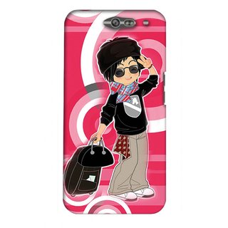 Snooky Digital Print Hard Back Case Cover For Infocus M812 98591