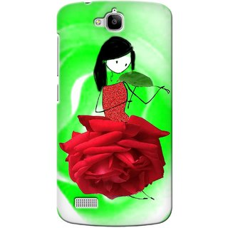 Snooky Digital Print Hard Back Case Cover For Huawei Honor Holly 100830
