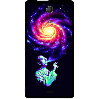 Snooky Designer Print Hard Back Case Cover For Sony Xperia Zr 180423