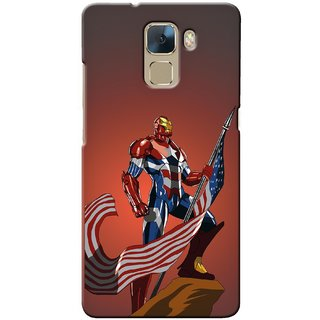 Snooky Digital Print Hard Back Case Cover For Huawei Honor 7 110792