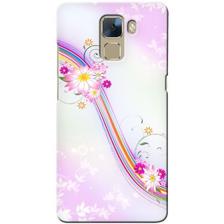 Snooky Digital Print Hard Back Case Cover For Huawei Honor 7 111120
