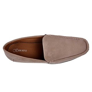 Kewl Instyle Stylish Men's Grey Loafer's