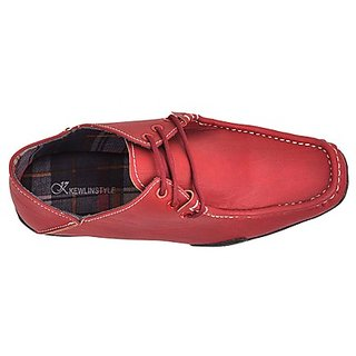 Kewl Instyle Men's Red Casual Shoes