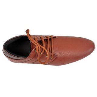 Kewl Instyle Men's Stylish Brown Casual Shoes - Option 2