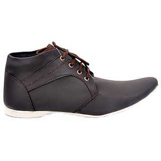 Kewl Instyle Stylish Men's Black Casual Shoes