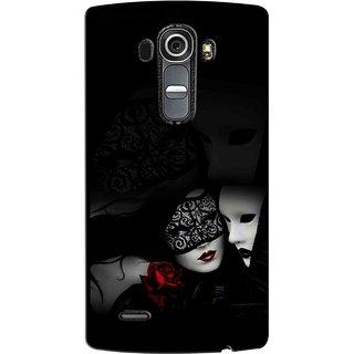 Snooky Digital Print Hard Back Case Cover For Lg G4 93900