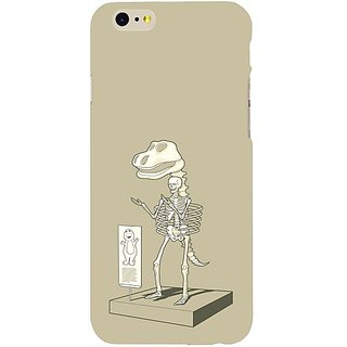 Casotec Dinosaur Skeleton Design Hard Back Case Cover For Apple Iphone Se gz8161-13805