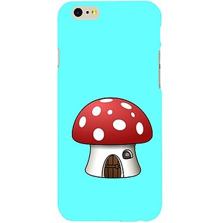 Casotec Mushroom House Design Hard Back Case Cover For Apple Iphone Se gz8161-14006