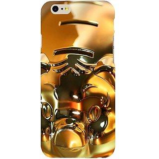 Casotec Gold Piggy Bank Design Hard Back Case Cover For Apple Iphone Se gz8161-14453