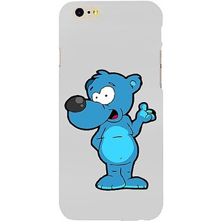 Casotec Blue Bear Design Hard Back Case Cover For Apple Iphone Se gz8161-14602