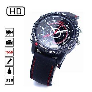 HD Rubber Strap Sports Watch Camera