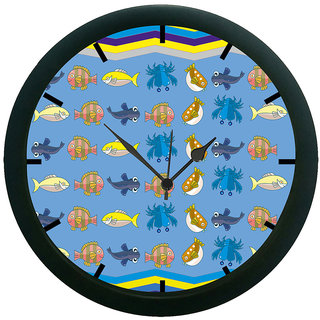 AE World Abstract Wall Clock (With Glass)