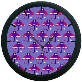 AE World Umbrella 3D Wall Clock (With Glass)