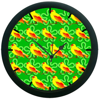AE World Bird Wall Clock (With Glass)
