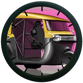 AE World Auto Wall Clock (With Glass)