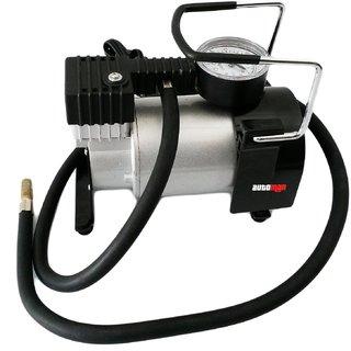 Automan 12V DC Heavy Duty Metallic Tyre Inflator Air Compressor Pump