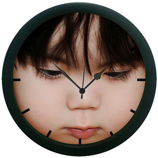 AE World Kid Face Wall Clock (With Glass)