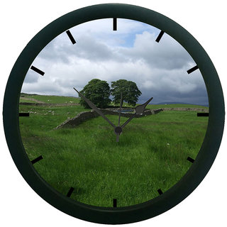 AE World Nature Wall Clock (With Glass)