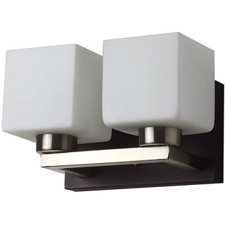LeArc Designer Lighting Contemporary Glass Metal Wood Wall Light WL1780