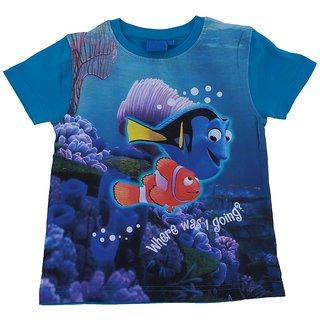 Snoby Boys Blue nemo print tshirt(SBY1165)