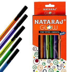Natraj Glow Pens - 60 Pcs