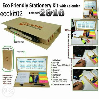 Eco friendly stationary box