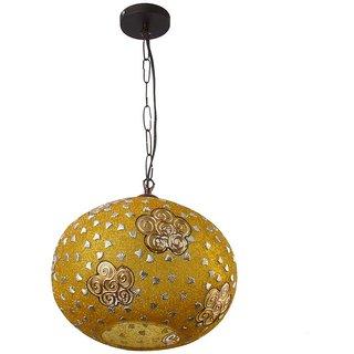 LeArc Designer Lighting Glass Metal Pendent Single HL3848