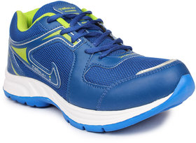 Columbus Men's Green & Blue Sports Shoes