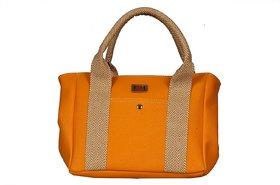 Women Dark Orange New Fashionable Shoulder  Hand Bag