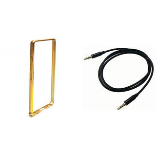 Technofirst Bumper Case for Apple iPhone 5 + 3.5mm Audio Cable