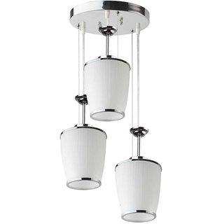 LeArc Designer Lighting Glass Metal Pendent Multiples HL3839-3