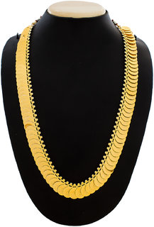 Luxor Gold Plated Gold Alloy Necklace Set For Women