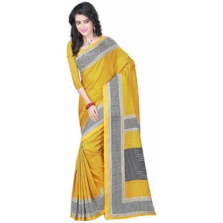d9a3054c2c11 Buy women Wedding Crackle Art cotton silk Printed saree for ladies ...