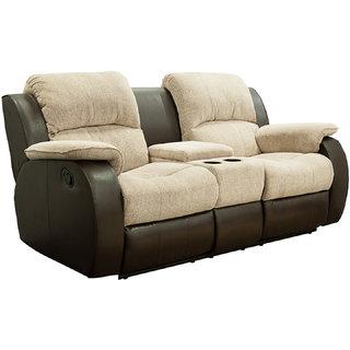 Sofa Set 3-1-1 (Natural Finish, Brown)
