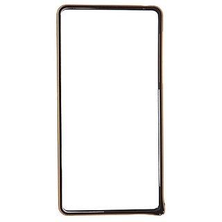 Casotec Metal Aluminium Bumper Frame Case Cover For Sony Xperia Z2 - Black gz2661060