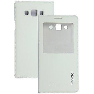 Casotec Premium Caller-Id Flip Case Cover Flip Case Cover For Samsung Galaxy A7 - White gz267559
