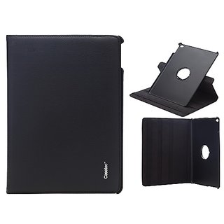 Casotec 360 Degree Rotating Pu Leather Smart Case Cover With Stand For Apple Ipad Air 2 - Black gz267568