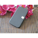 IMPRUE GREY Exclusive Flip Case Cover With Credit Card Slot For Galaxy Note 2