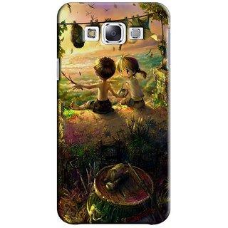Saledart Designer Mobile Back Cover For Samsung Galaxy E7 Sge7Kaa382 SGE7KAA382