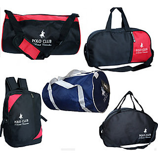 Polo Club 4 Travel Bags Combo with 1 Bag Free - Buy Online at Best ... 4bac46d084b59