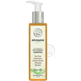 Pürnaturals  Anti Dandruff Shampoo  200 Ml - 0012026 _ 100%natural