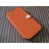 IMPRUE ORANGE Exclusive Flip Case Cover With Credit Card Slot For Galaxy Note 2