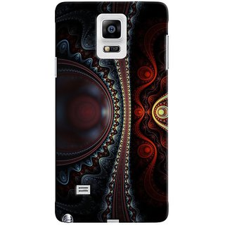Saledart Designer Mobile Back Cover For Samsung Galaxy Note 4 N910F Sgnote4Kaa133 SGNOTE4KAA133
