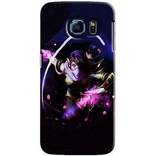 Saledart Designer Mobile Back Cover For Samsung Galaxy S6 Edge Sgs6Ekaa166 SGS6EKAA166