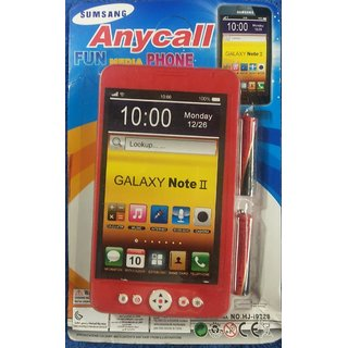 Kids Mobile Phone With Music Battery Operated Toy Galaxy Note Ii