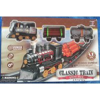 CLASSIC EXPRESS TRAIN PLAY SET 11 PC WITH ENGINE GIFT TOY FOR KIDS