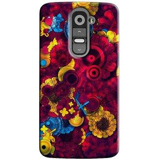 Saledart Designer Mobile Back Cover For Lg G2 Lgg2Kaa247 LGG2KAA247